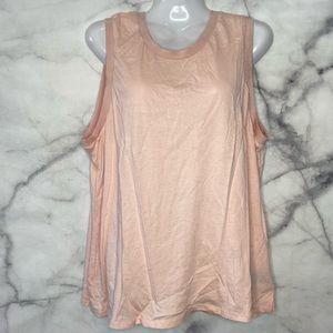 🚨3/$30🚨MASSIMO Sleeveless Pink Blush Shirt Top